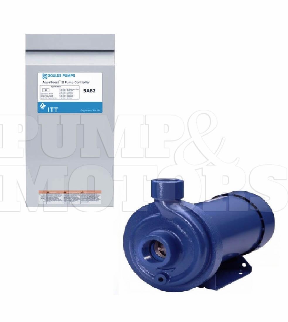 5ab22mc1j2k2 Goulds Pump Motor Vfd Controller 5hp 230v