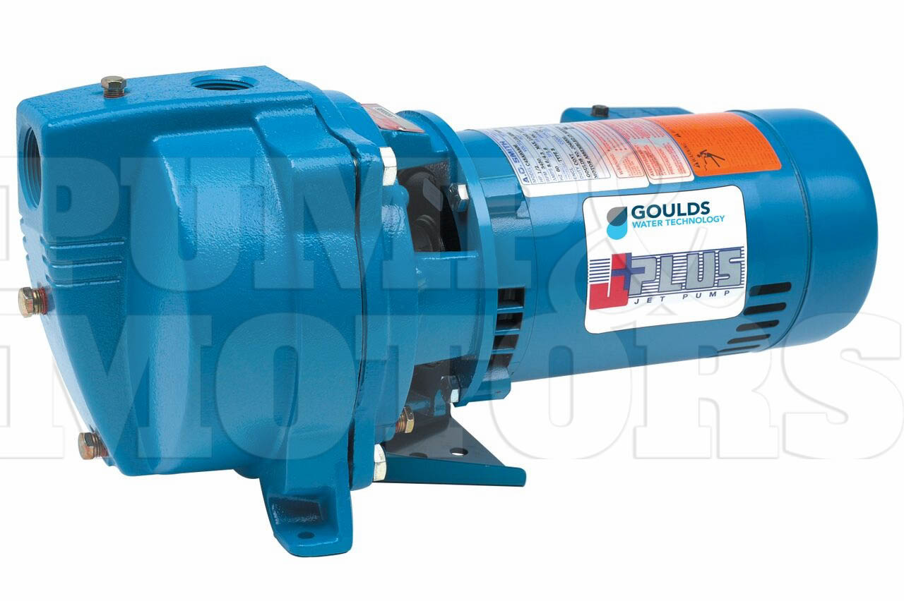 Goulds J5s 1 2hp Shallow Water Well Jet Pump 115 230v J5s