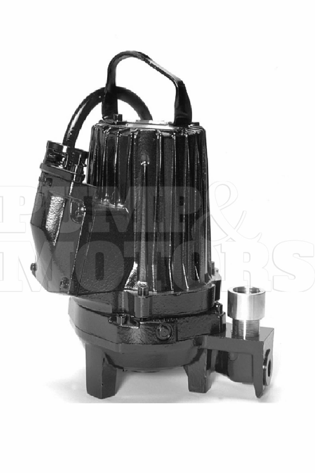 Goulds 1GA81H1GDX 5.4HP Submersible Grinder Pump 230V 1 Phase