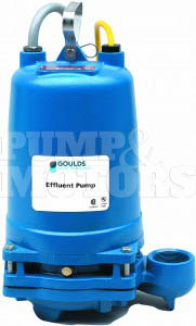 Goulds 2ED51C3DA 1/2HP Dual Seal Effluent Pump 230V Three Phase