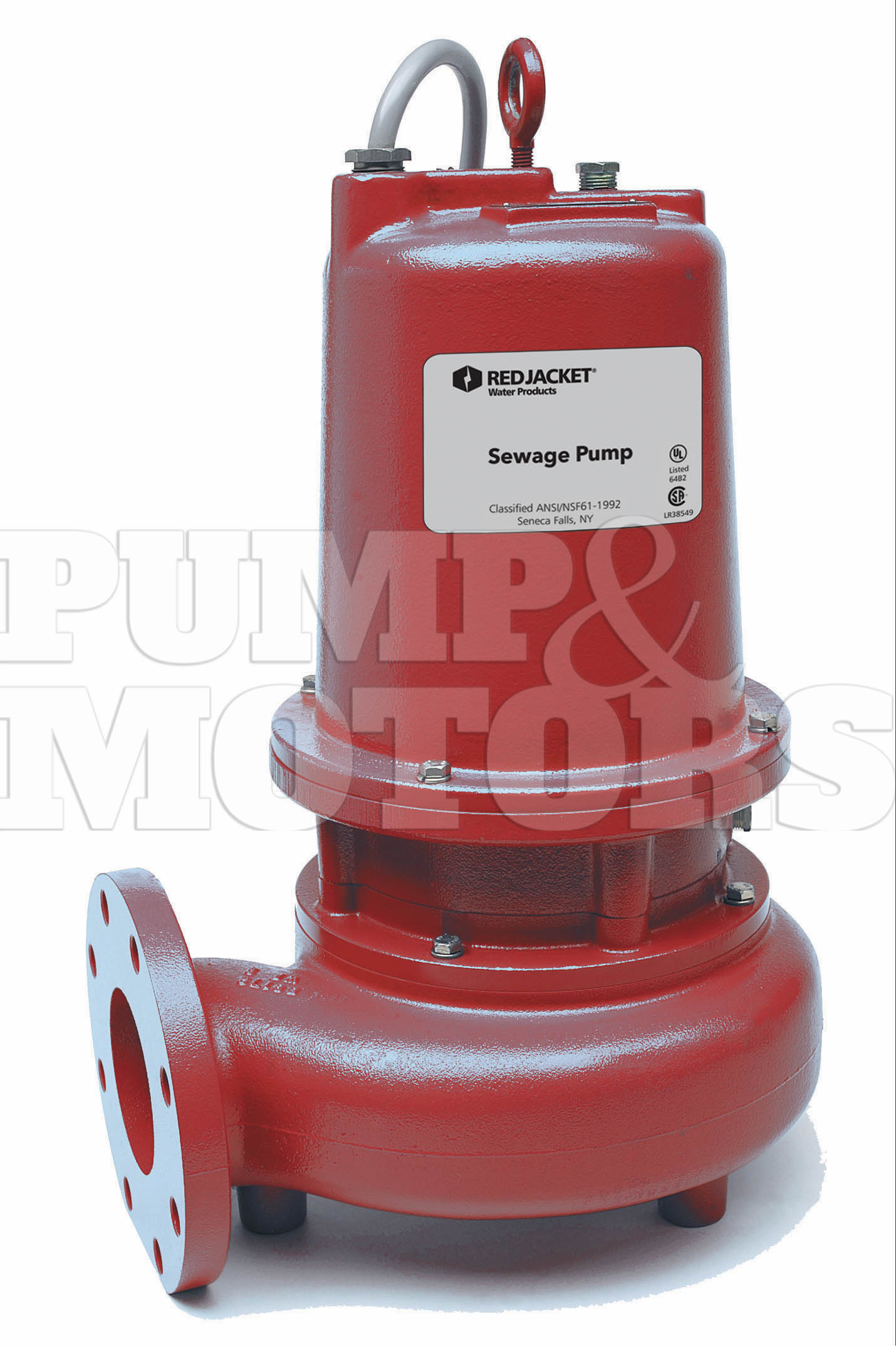 Red Jacket 4WS1518DM 1.5HP Submersible Sewage Pump 1PH 208V