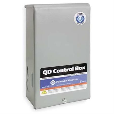 Franklin 2801024915 1/3HP Quick Disconnect Control Box 115V 60Hz