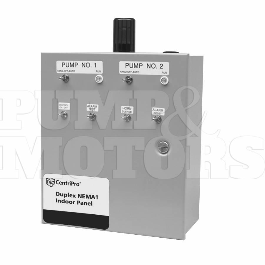 D10020 Goulds SES Duplex Control Panel Single Phase [D10020 ... on