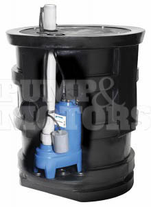 Goulds GWP1124 Assembled Sewage Package with PS41A1 Pump