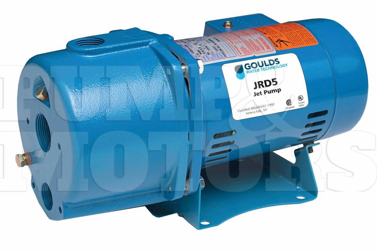Goulds J7 3 4hp Convertible Water Well Jet Pump 115 230v