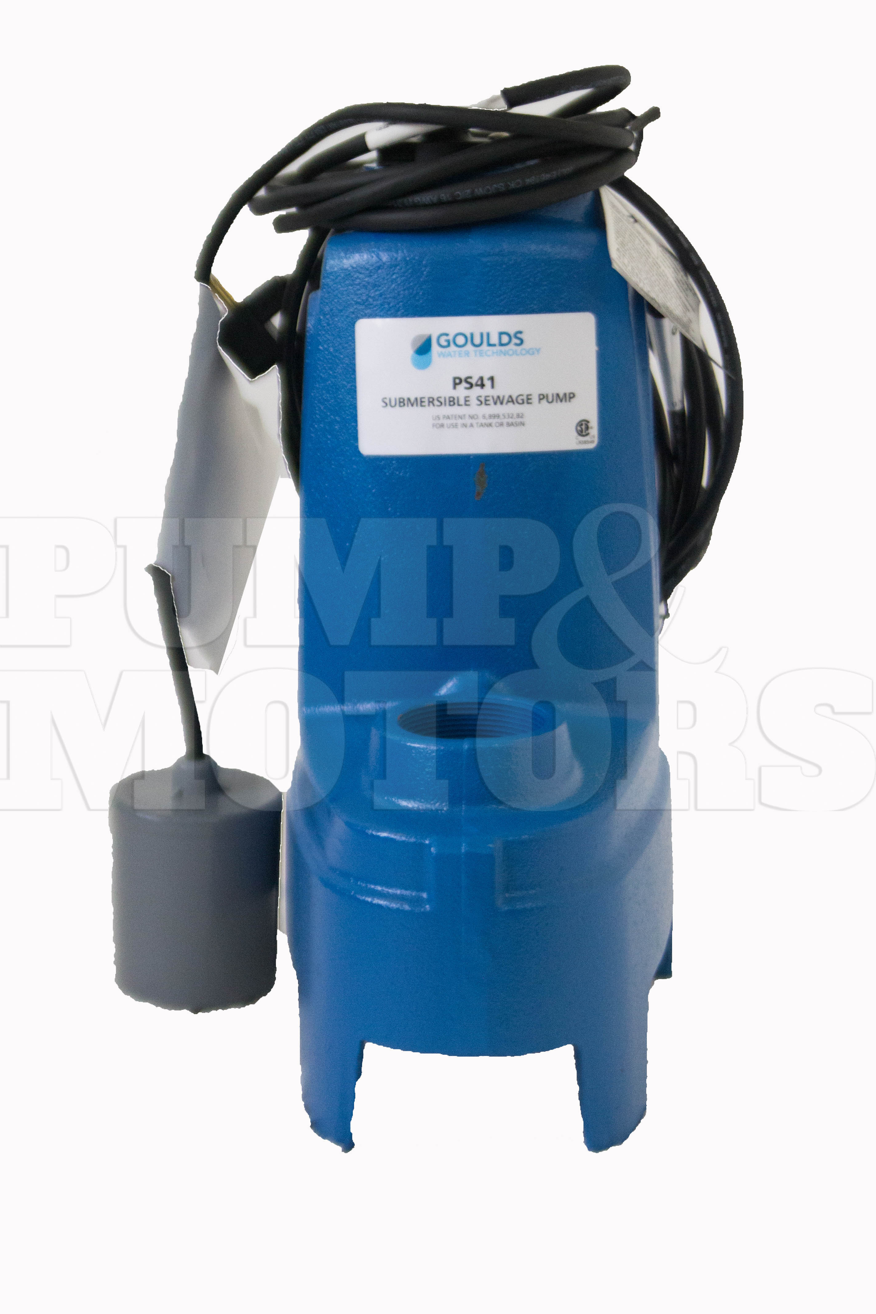 Goulds PS42P1F 4/10HP Submersible Sewage Pump 230V Auto