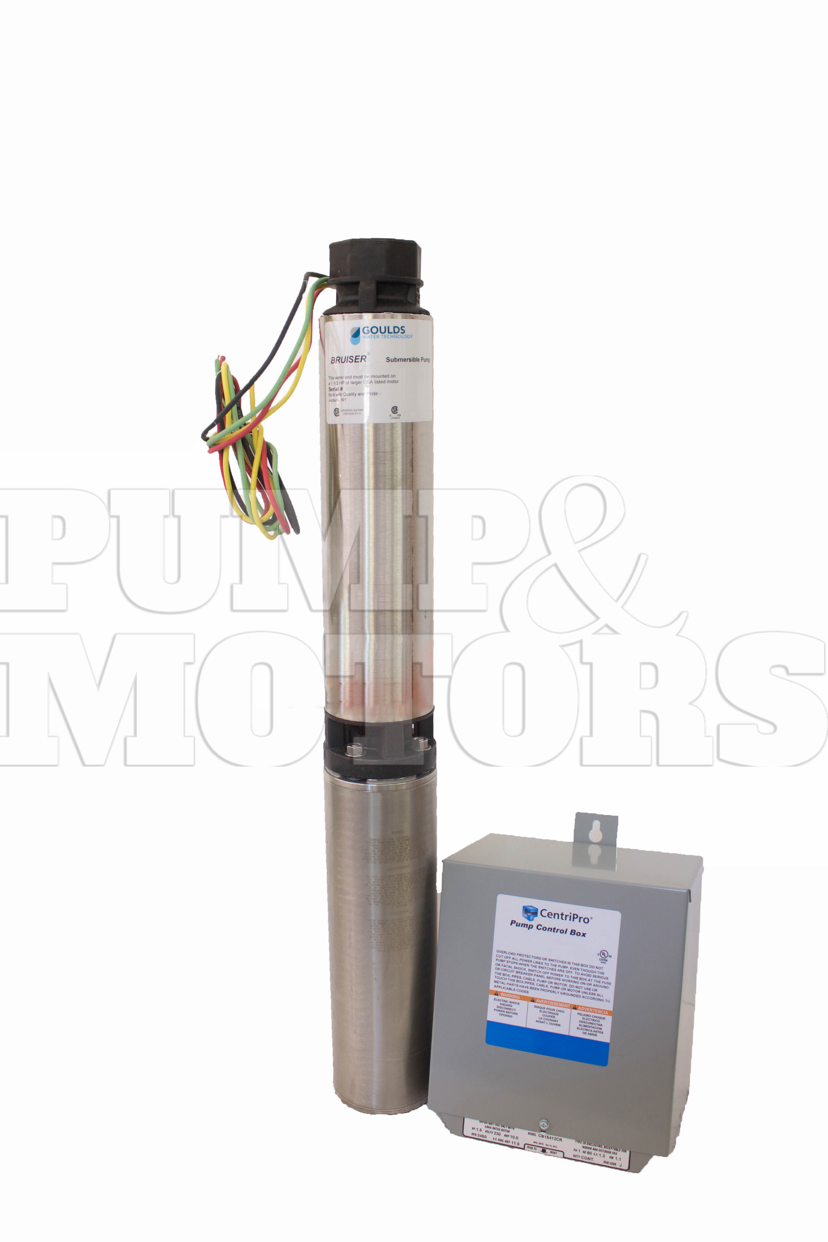 Goulds 18SB15412C 1.5 HP 230V Submersible Water Well Pump 18GPM
